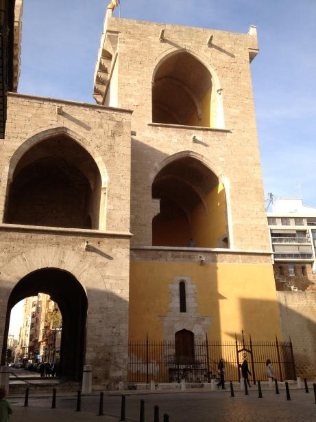 Photo of Valencia city walls